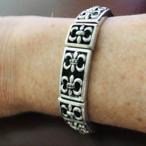 NWT Brown & Silver Bracelet